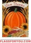 Give Thanks Pumpkin Mailbox Cover