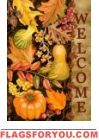 Welcome Harvest House Flag