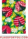 Fancy Ladybugs House Flag - 1 left