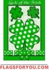 Luck of the Irish House Flag