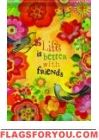Better W/Friends Garden Flag