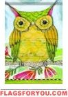 What A Hoot Garden Flag