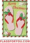 Holiday Flip Flops House Flag