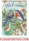Beautiful Bluebird Garden Flag