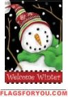 Winter Smile Garden Flag