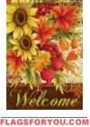 Sunflowers & Pomegranate Garden Flag