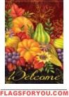 Bountiful Harvest Garden Flag