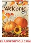 Harvest Melody Garden Flag