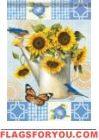 Sunflower Garden Garden Flag