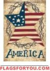 America Stars & Stripes Garden Flag