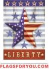 Liberty Barnstar House Flag