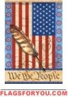 We The People Garden Flag