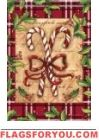 Candy Cane Christmas Garden Flag