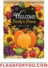 Fruitful Welcome Garden Flag