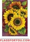 Sunflower Solstice Garden Flag
