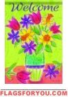 Bright Flowers Garden Flag