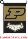 Purdue Boilermakers Double Sided Garden Flag - 2 left