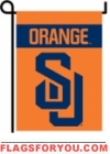 Syracuse Orange Double Sided Garden Flag