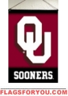Oklahoma Sooners Indoor Banner Scroll