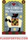 The Lord is My Shepherd House Flag - 2 left