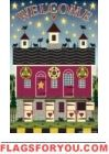 Lancaster Barn Welcome Garden Flag - 2 left