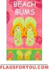 Beach Bums Garden Flag - 13 left