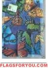 Butterfly Collage Garden Flag