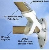 Dual Position House Flag Mounting Bracket