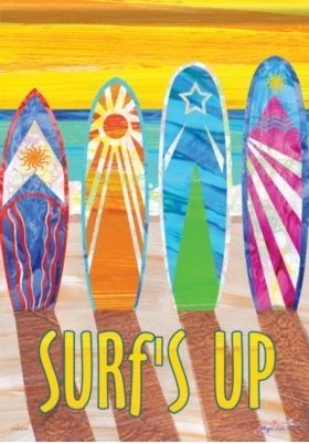 Surfs Up House Flag