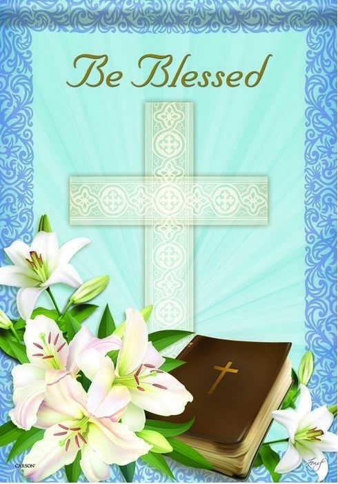Be Blessed House Flag