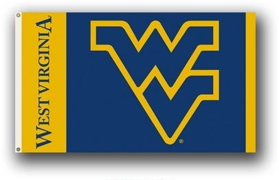 last one - West Virginia Mountaineers 3x5 Single Sided Flag