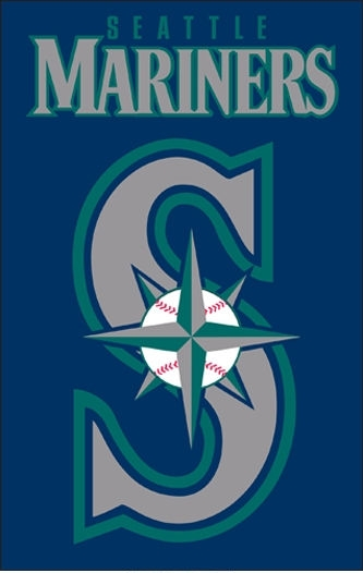 "Mariners Applique Banner Flag 44"" x 28"""