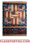 Welcome Patriotic House Flag - 16 left