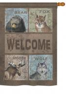 Wilderness Welcome House Flag
