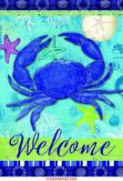Blue Crab House Flag