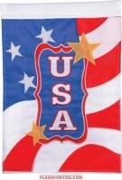 USA Applique House Flag