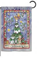 Merry Christmas to You Garden Flag