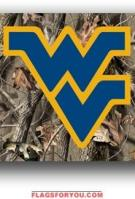 West Virginia Mountaineers 3x5 Single Sided Flag