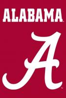 Alabama Crimson Tide Applique Banner Flag 44\