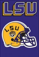 LSU Tigers Applique Banner Flag 44\