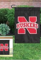 Nebraska Cornhuskers Garden Window Flag 15\