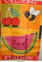 Welcome Summer Friends Garden Flag