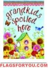 Spoiled Here Garden Flag