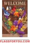 Autumn Bird Medley Garden Flag