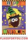 Happy Halloween Owl House Flag