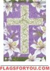 Easter Cross House Flag