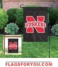 "Nebraska Cornhuskers Garden Window Flag 15"" x 10.5"""