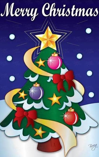 christmas - Decorative Christmas Flags