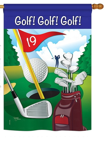 Golf!, Golf!, Golf! House Flag