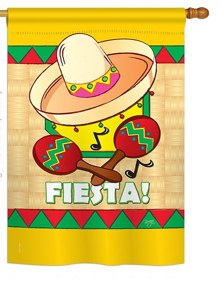 Awesome Fiesta House Flag